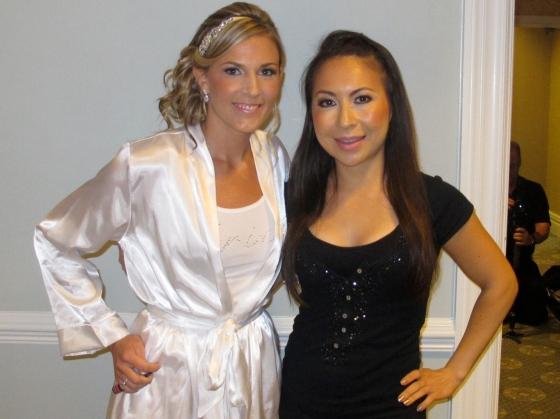 Meli with Jen