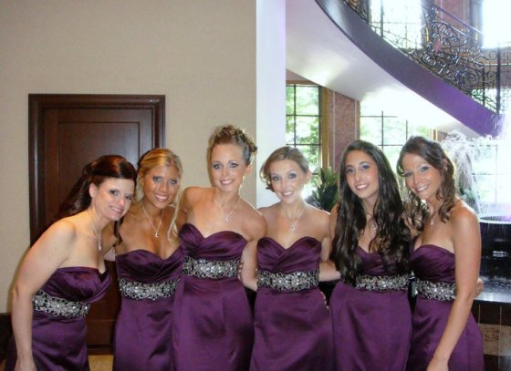 Tracy's bridesmaids