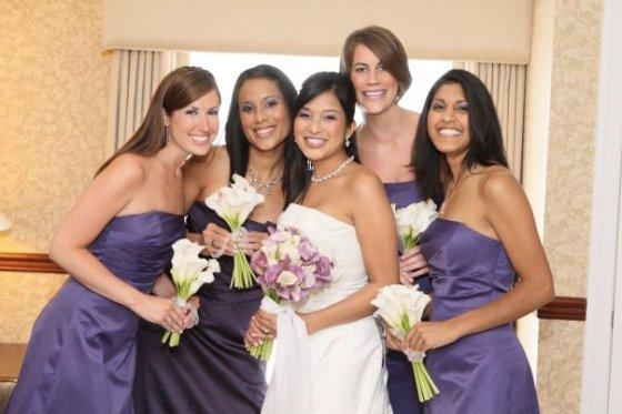 Charissa - bridal party
