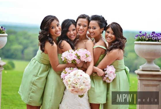Christina - bridal party