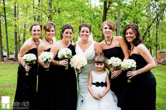 Dana's bridal party