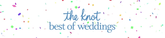 The Knot Best of wedding banner