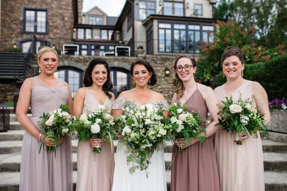 Katie G bridal party