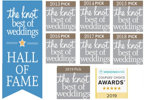 the knot best of weddings awards 2019