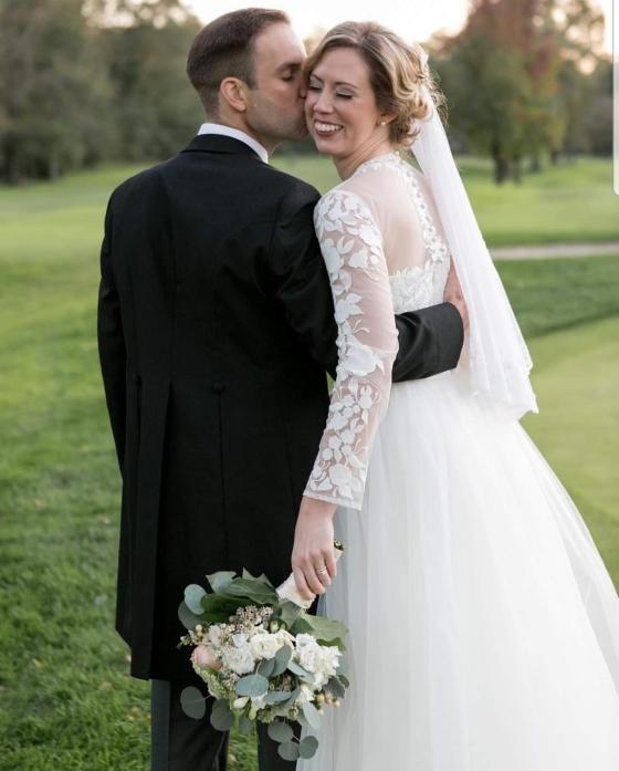Tish's wedding